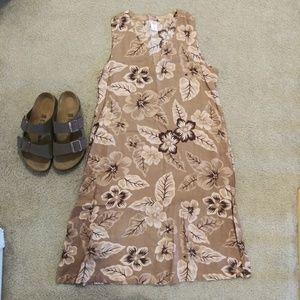 🔴5/$25 NWOT Floral Dress - Tropical Escape, M